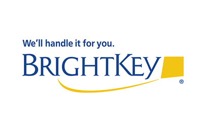 text: we'll handle it for you. Brightkey