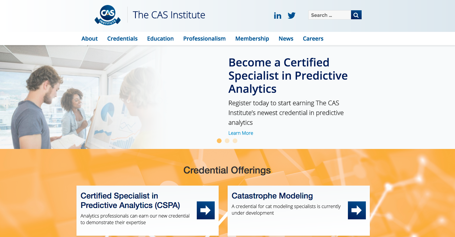 iCAS Homepage