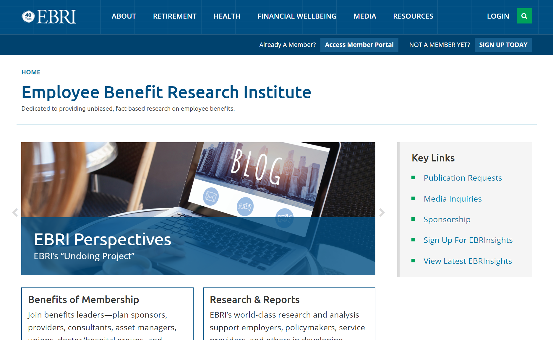 Employee Benefit Research Institute