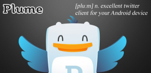 plume logo and iconography