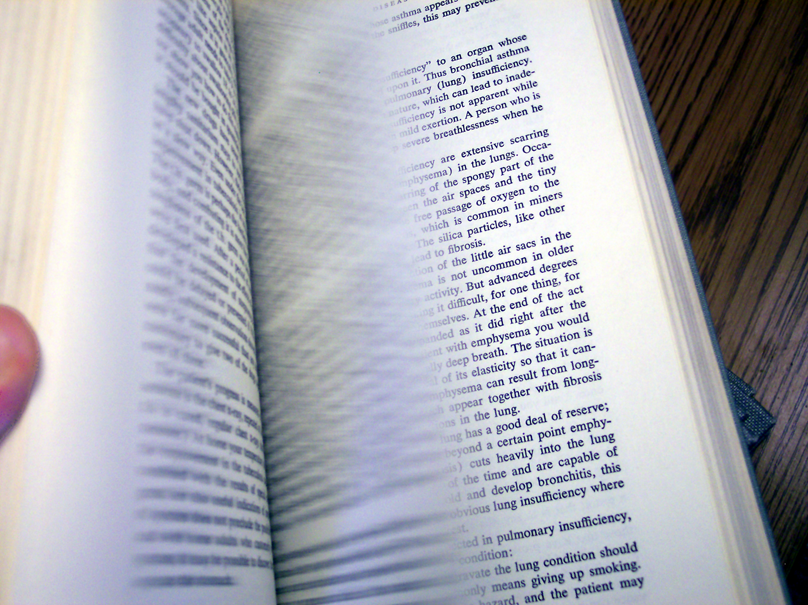 book turning pages