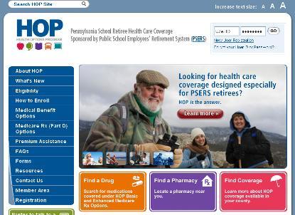 Pennsylvania Public School Employee's Retirement System Member Portal