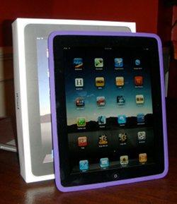 Photo of Joanna's iPad