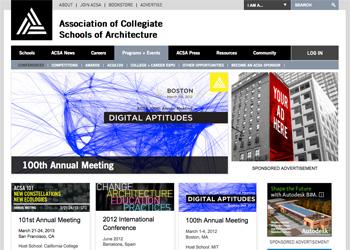 ACSA home page